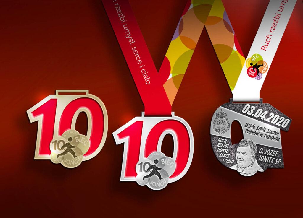 Medal 10. Biegu Jońca